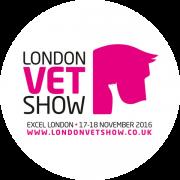 London Vet show logo - pink horse