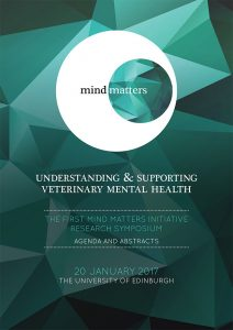 The First Mind Matters Symposium - Agenda and Abstracts front cover
