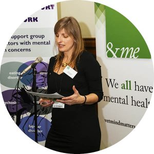 Lizzie Lockett at AndMe campaign launch