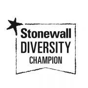 Stonewall Diversity Champion logo