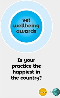 Wellbeing Awards booklet cover - Is your practice the happiest in the country?