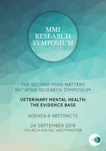 MMI Research Symposium 2019 Agenda & Abstracts front cover