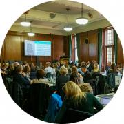 Delegates at student roundtable