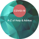 A-Z of help and advice graphic - covid-19resource