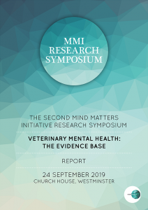 MMI Research Symposium 2019 report cover